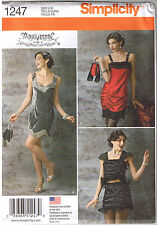 20s Flapper Dress Top Dance Purse Costume Arkivestry Sew Pattern 14 16 18 20 22