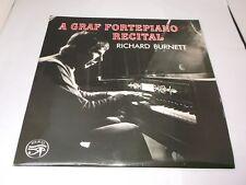 Richard Burnett:   A Graf Fortepiano Recital  1977  EX+  SIGNED  LP