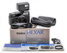 (93) Black Konica Hexar w/35/2, accessories, beautiful & functional, L@@K!