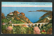 Posted 1947 UK Crowthorne Postmark: View of Aquaduct, Eze, France