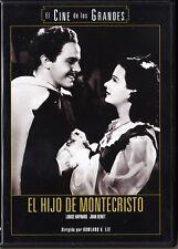 EL HIJO DE MONTECRISTO de Rowland V. Lee. España tarifa plana envíos DVD, 5 €