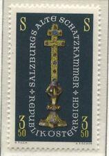 """Österreich Austria 1239 Ausstellung """"Salzburgs Alte Schatzkammer"""" Reliqienkreuz"""