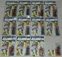 Lot 1986 GI Joe Cobra Infantry Viper v1 Figure Set Army Builder File Card Backs