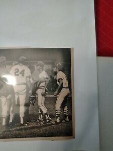 "Newspaper Photo of Randy Poffo aka ""Macho Man"" Randy Savage in the Minors Rare!!"