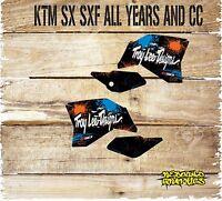 KTM SX SXF 85 125 250 450 Rad Scoops Graphics MX Decals Sticker Kit 111