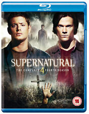 Supernatural - The Complete Season 4 [2009] (Blu-ray) Misha Collins