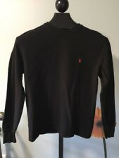 Polo Ralph Lauren Mens Thermal Shirt Long Sleeve Navy Blue Size Medium