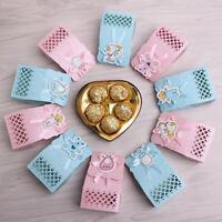 GI- CO_ 12Pcs Cute Ribbon Paper Candy Box Christmas Wedding Party Favor Gift Box