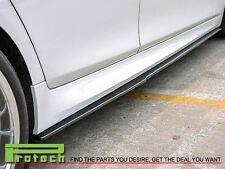 DP Carbon Fiber Side Skirts Add-On Lip Fits 2011+ BMW 528i 535i 550i M sports