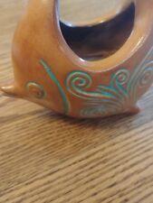 Decorative persian Ceramic Fish Design Candle Stand Home Decor Gift Collectibles