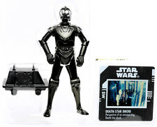 "Star Wars Power of the Force DEATH STAR DROID 3.75"" Action Figure POTF Kenner"