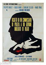manifesto 2F originale LES AVEUX LES PLUS DOUX Philippe Noiret Marc Porel 1971
