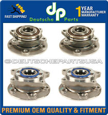VOLVO S80 V70 S60 XC70 FRONT+REAR LH RH WHEEL HUB HUBS BEARING BEARINGS SET OF 4
