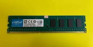 crucial 4GB 1600 Desktop Ram ct51264bd160b-c16fpd2 USED TESTED OK