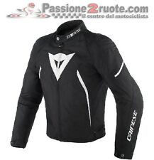 Women's jacket moto Dainese Avro d2 Tex black white size 42