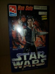 HAN SOLO STAR WARS 1995 VINYL MODEL KIT AMT ERTL COLLECTORS EDITION