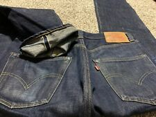 LEVI'S 501 XX SELVEDGE STRAIGHT BUTTON FLY MADE IN USA MEN'S JEANS SIZE 32X34