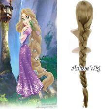 Anime von Enchanted Rapunzel Blonde 120cm Fasching Tresse Cosplay Voll Perücke