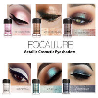 Eyeshadow Colors Pearl Metallic Eye Shadow Palette Makeup Powder Lasting Natural