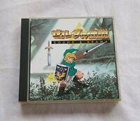 The Legend fo Zelda Sound & Drama Soundtrack Video Game Music CD Nintendo F/S