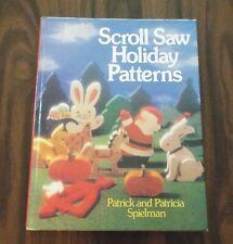 ~ Scroll Saw Holiday Patterns Book ~ Spielman Wood Works ~ Wood Crafts ~