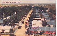 Postcard Overview of Villa City in Venice, California~115098