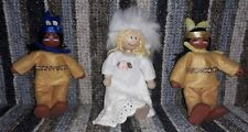 The Dolls House Emporium Cowboy Kids  -3 Characters wild west gal and 2 indians