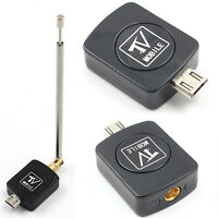 Micro USB DVB-T HD TV Tuner Digital Satellite Dongle Receiver For Phone TV TuneW