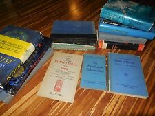 Lot of Astrology Reference Material 14 books Research copies