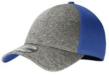 MEN'S NEW ERA, 39THIRTY, HEATHERED/SOLID CAP, STRETCH FIT, MID PROFILE, S/M-L/XL