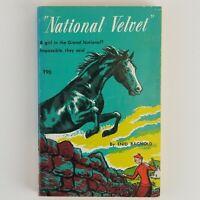 Vintage Book National Velvet Enid Bagnold 1957 Tab Books  Classic 1957 paperback