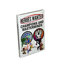 Heroes Wanted Card Game - Champions and Masterminds Expansion 1 - Sealed New