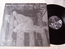 """UK DECAY - RISING FROM THE DREAD WITH RARE INSERT ~ 1982 4 TRACK 12"""" EP  ~ EX"""