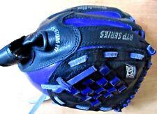 "Franklin Youth #4625 Black and Purple 10-1/2"" Baseball Glove Rht"