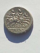 Roman Republic AR Denarius L. Sempronius Pitio , 148 BC , 3.99 gr, Syd 402.