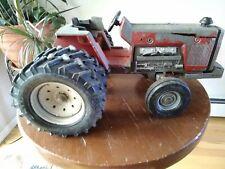 Vintage Ertl Toy Massey Ferguson Farm Tractor, Dual rear tires, possibly 2805