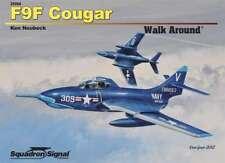 Squadron/Signal 25068 - F9F Cougar Walk Around -  Soft Cover