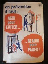Affiche securité AINF nº 922