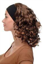 Perruque pour Femme Bandeau Volumineux Boucles Brun-Blond-Mix BRO-704-6T27