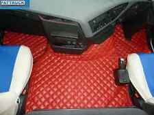 TRUCK ECO LEATHER FLOOR SET-COMPATIBLE WITH VOLVO FH 4  2013+ [TWIN AIR SEATS]