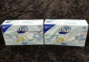 Dial Glycerin Soap w/Coconut Water 4 oz / 113 g - ( 12 Bars ) *Brand New*