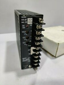 NEMIC-LAMBDA HR-9F-15V - 2.6A POWER SUPPLY - Input 100-120VAC 50/60 Hz New