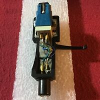 Audio Technica AT82ED Magnetic Cartridge • Jico Stylus • Quality Headshell 4-Pin