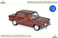 Simca 1000 LS 1974 Amarante Red  NOREV - NO 185713 - Echelle 1/18