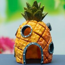 Spongebob Squarepants Pineapple House Fish Tank Aquarium Ornament Home 14cmNEW