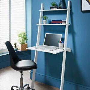 New Stunning Lokken Ladder Desk - Ideal desk for work and store essentials