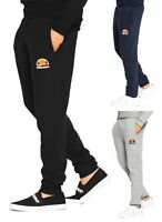 ellesse New Mens Ovest Jogging Bottoms Sweat Jog Pants Trousers Black Blue Grey