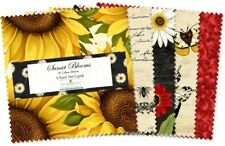 """Wilmington Sunset Blooms by Anne Rowan 503 517 503 - 5"""" Squares"""