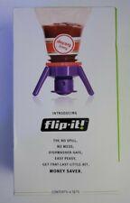 Flip-It Bottle Emptying Kit - Deluxe - By Flip It Cap Company