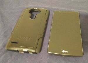 LG G4 VS986LD - 32GB - Black Leather - (Verizon) Parts Only